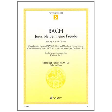 Bach, J. S.: Jesus bleibet meine Freude BWV 147
