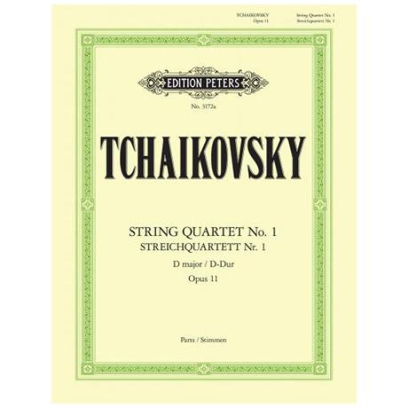 Tschaikowski, P.I.: Streichquartett Nr.1 D-Dur, Op.11