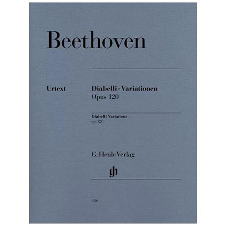 Beethoven, L. v.: Diabelli-Variationen Op. 120