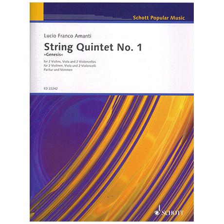 Amanti, L.F.: String Quartet No. 1 – »Genesis«