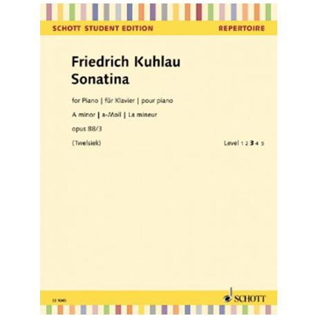 Kuhlau, F.: Sonatina Op. 88/3 a-Moll