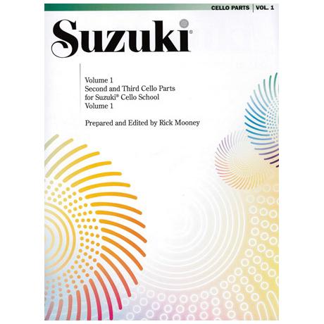 Suzuki Cello School Vol.1 – Ensembles for Cello