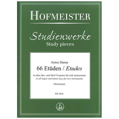 Slama, A.: 66 Etüden in allen Dur- und Molltonarten