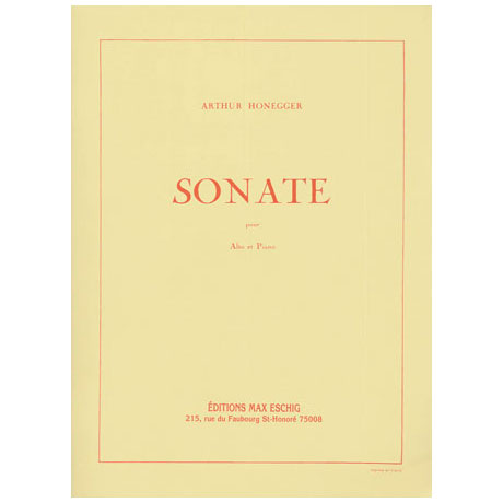Honegger, A.: Violasonate