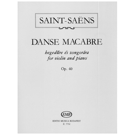 Saint-Saens, C.: Danse Macabre op.40