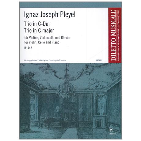 Pleyel, I. J.: Trio in C-Dur B. 443