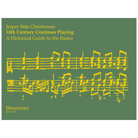 Christensen, J. B.: 18th Century Continuo Playing