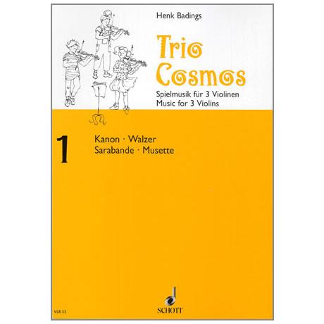 Badings, H.H.: Trio-Cosmos Nr.1