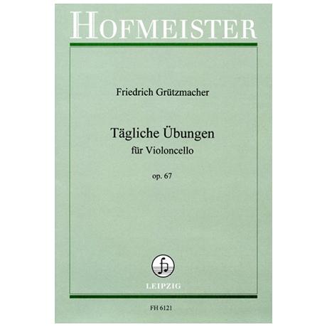 Grützmacher, F.W.: Tägliche Übungen für Violoncello Op. 67