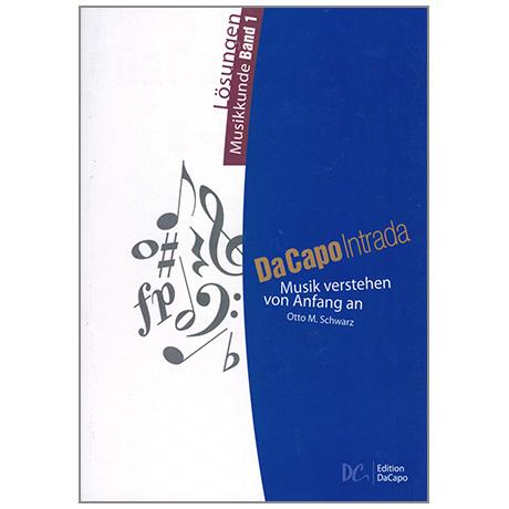 Da Capo Intrada - Lösungen Musikkunde Band 1