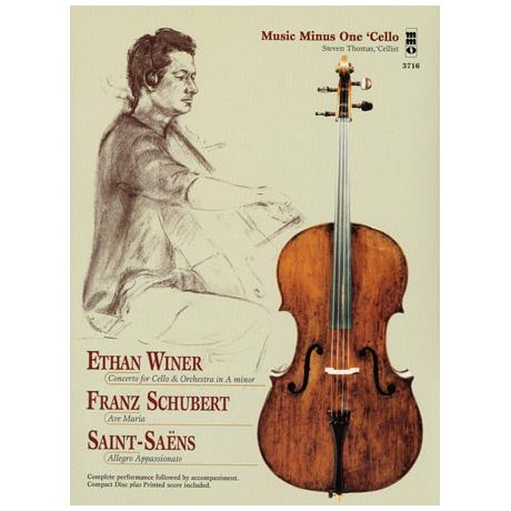 Winer, E.: Cellokonzert / Schubert, F.: Ave Maria / Saint-Saens, C.: Allegro Appassionato (+2 CDs)