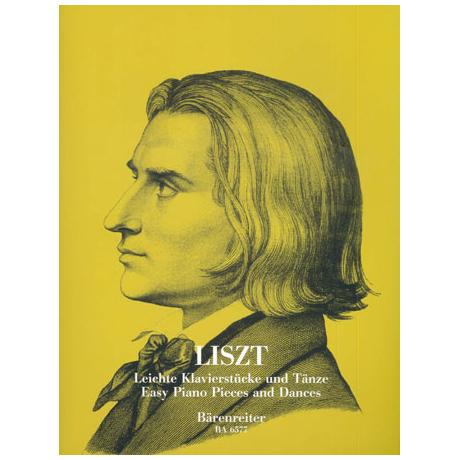 Liszt, F.: Leichte Klavierstücke und Tänze