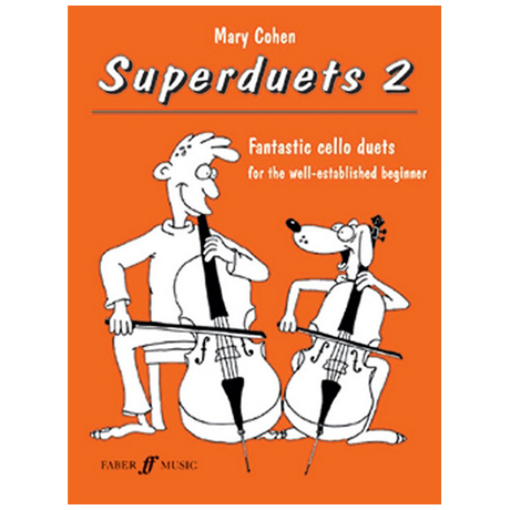 Cohen, M.: Superduets Book 2 – Cello