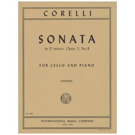 Corelli, A.. Violoncellosonate Op. 5/8 D-Dur