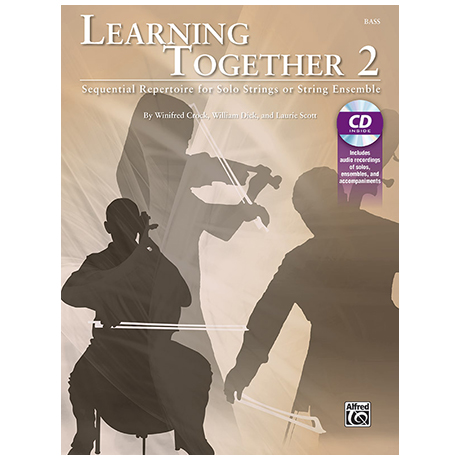 Crock, W./Dick, W./Scott, L.: Learning Together 2 (+CD) – Kontrabass