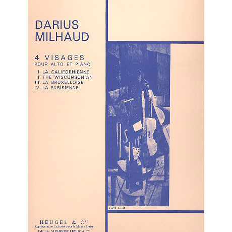 Milhaud, D.: 4 Visages Nr. 1: La Californienne