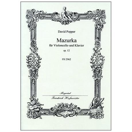 Popper, D.: Mazurka Op. 12