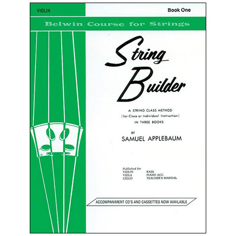 Applebaum, S.: String Builder Book One – Violin