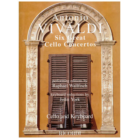 Vivaldi: 6 Great Cello Concertos