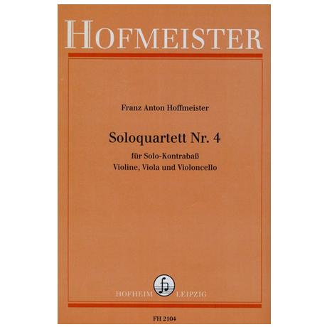 Hoffmeister, F.A.: Solo-Quartette Nr.4