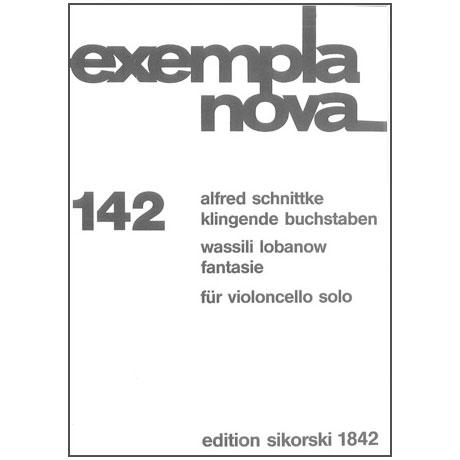 Schnittke, A. / Lobanow, V.: Klingende Buchstaben / Fantasie