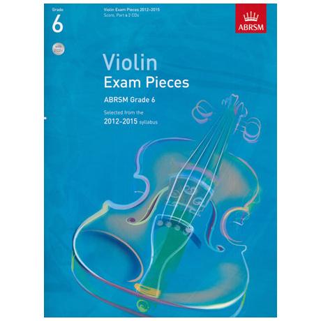 ABRSM: Selected Violin Exam Pieces Grade 6 (2012-2015) (+CD)