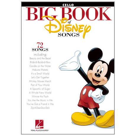 Big Book Of Disney Songs