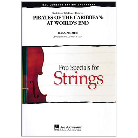Pop Specials for Strings - Medley from Pirates of the Caribbean Band 3
