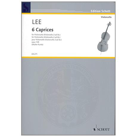 Lee, S.: 6 Caprices Op. 109