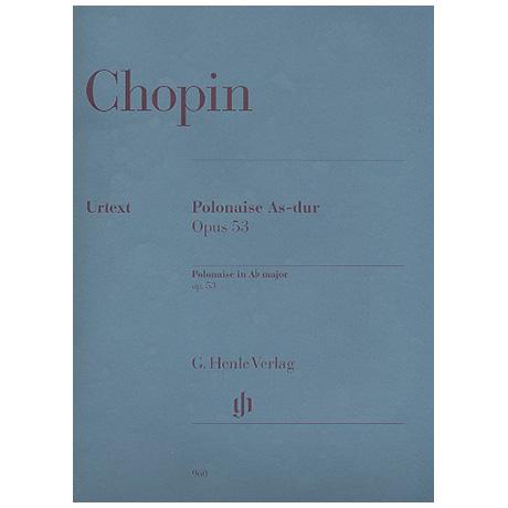 Chopin, F.: Polonaise As-Dur Op. 53 (Oktaven)