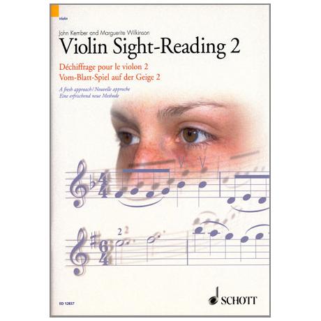 Vom-Blatt-Spiel auf der Geige 2