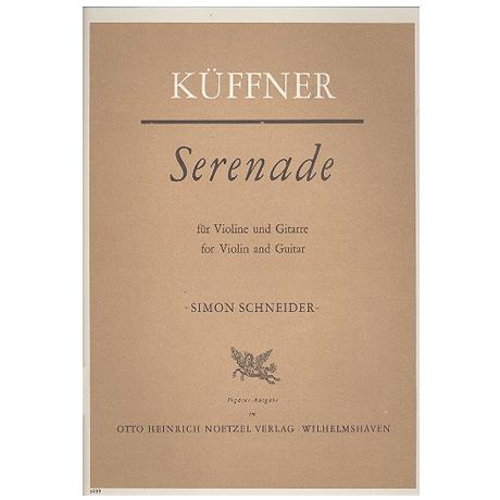 Küffner, J.: Serenade Op. 68