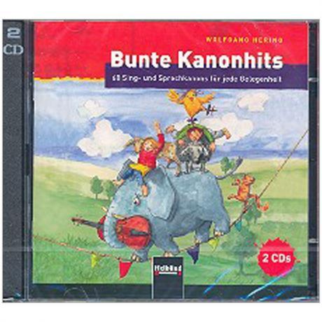 Hering, W.: Bunte Kanonhits – 2 CDs