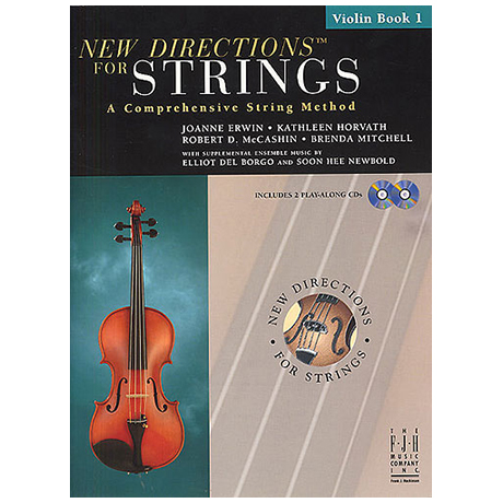 New Directions for Strings – Violin Book 1 (+CD)