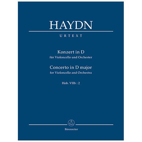 Haydn, J.: Konzert für Violoncello und Orchester D-Dur Hob. VIIb:2