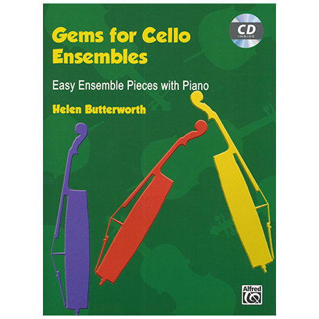 Butterworth, H.: Gems for Cello Ensembles (+CD)