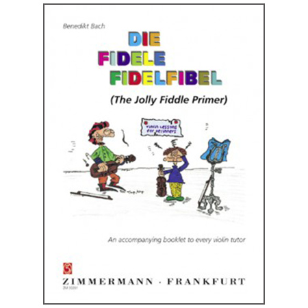 Bach, B.: The Jolly Fiddle Primer