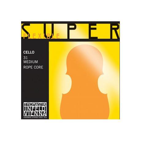 SUPERFLEXIBLE Cellosaite G von Thomastik-Infeld 4/4   stark