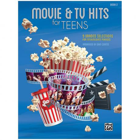 Movie & TV Hits for Teens Book 2