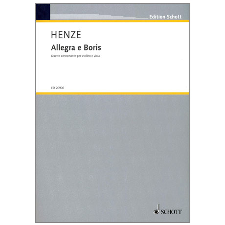 Henze: Allegra e Boris - Duetto concertante