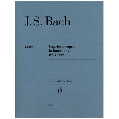 Bach, J. S.: Capriccio sopra la lontananza BWV 992