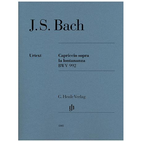 Bach, J. S.: Capriccio sopra la lontananza BWV 992