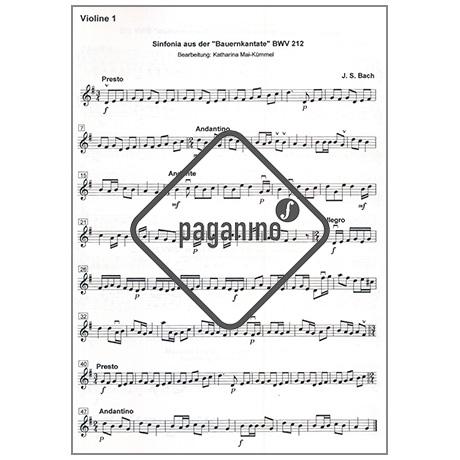 Mai-Kümmel, K.: Zehn leichte Stücke aus der Barockzeit – Stimmen