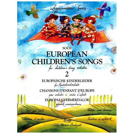 Leggierissimo - Europäische Kinderlieder 2