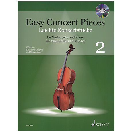 Deserno, K. / Mohrs, R.: Easy Concert Pieces Band 2 (+CD)