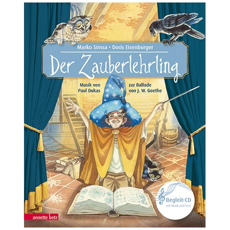 Simsa, M./Eisenburger, D.: Der Zauberlehrling (+Audio-CD)