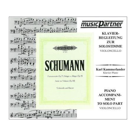 Schumann, R.: Original-Kompositionen Op. 70, Op. 73, Op. 102 Compact-Disc CD