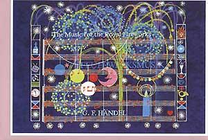 Kunstkarte Feuerwerksmusik