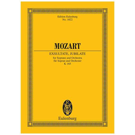 Mozart, W. A.: Exsultate, jubilate KV 165