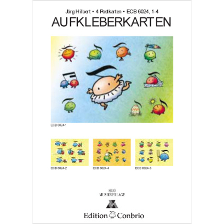 Sticker-Postkarten Set